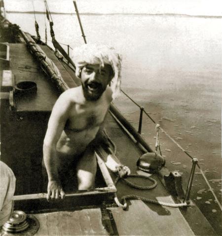 ToulouseLautrec sur son bateau