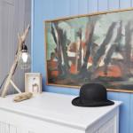 Salon de la Cabane de Lautrec, location saisonnière à Claouey