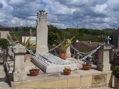 tombe de Toulouse Lautrec