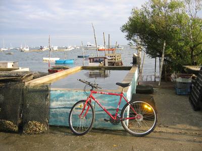 Cap-Ferret à vélo