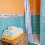 salle de bain de la cabane de Lautrec