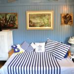 La Cabane de Lautrec, canapé ouvert