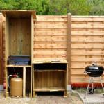 L'espace plancha-barbecue
